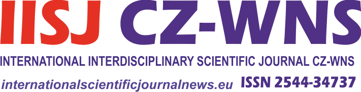 International Scientific Journal News CZ-WNS